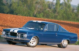 1964 Barracuda - Glassback.
