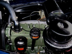 Clipper Eight Straight 8 cylinder L-head engine