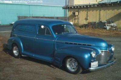 '41 Chevy Sedan Delivery.  Another Favorite.