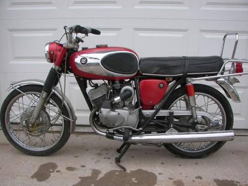 1966 bridgestone 175 dual twin