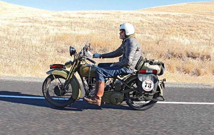 STOLEN HARLEY. 1926 Harley JD – Texas Antique Plate #BDKX4