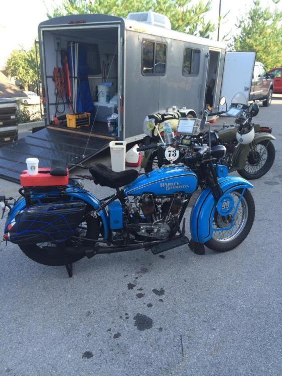 STOLEN Harley 1928 Harley Davidson JD – Texas Antique Plate # BFGV2