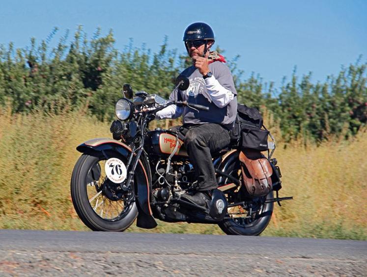 STOLEN HARLEY – 1931 Harley-Davidson VL – Texas Antique Plate #BFGR3