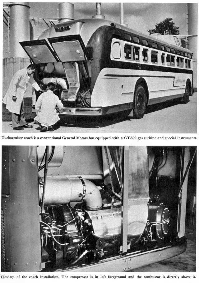 GM Gas Turbine Bus