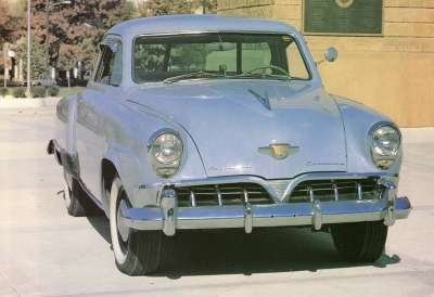 1952 Studebaker.   2 years later money issues forced a merger with  Packard.