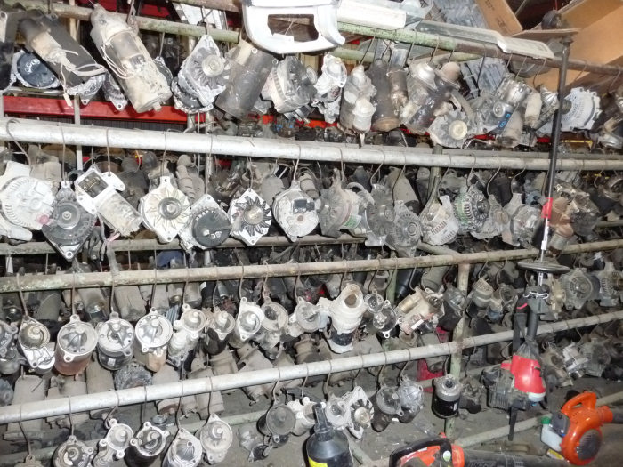 Salvage yard part - untested and as is.