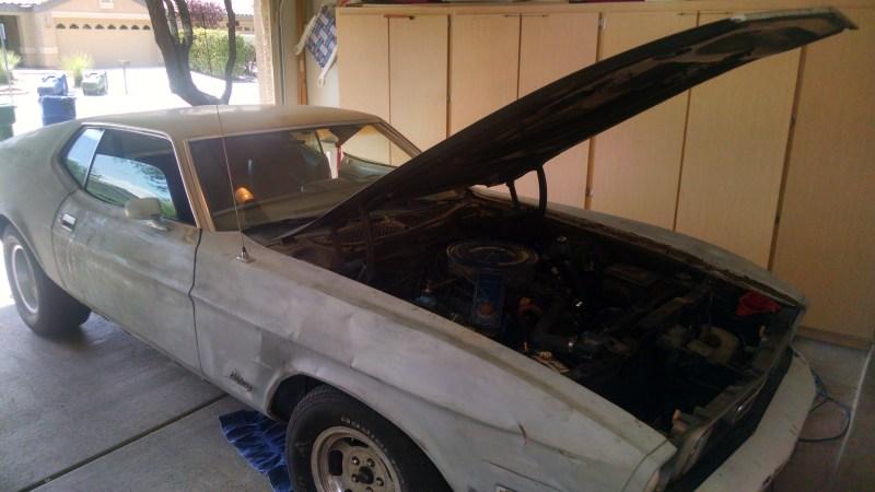 1973 Mustang Color Code 2B.