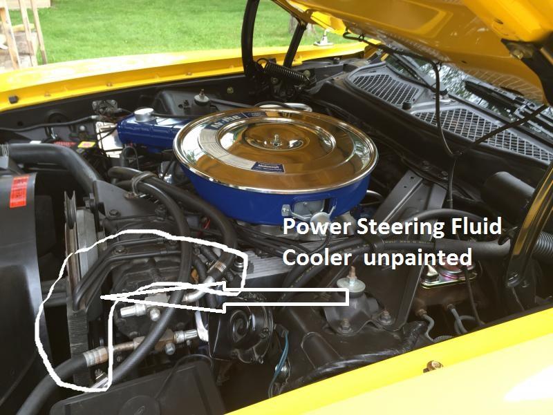 PSCooler?resize=481%2C362 1973 mustang project sportsroof power steering fluid cooler