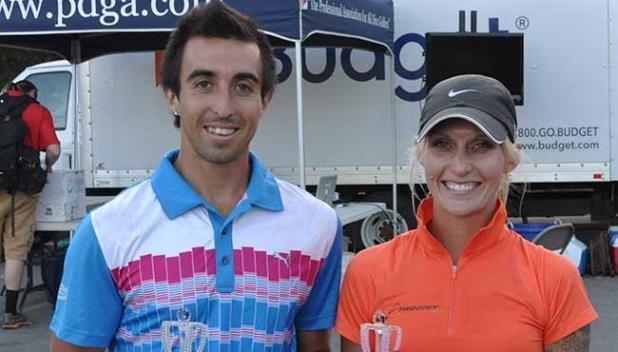 Paul McBeth and Catrina Allen - 2014 World Champions