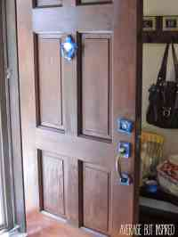 How to Refinish an Exterior Door The Easy Way