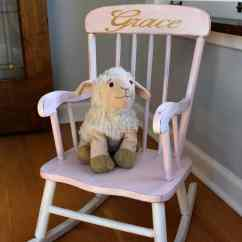 The Rocking Chair Store Wedding Cover Rentals Pretty Painted A Beautiful Baby Gift
