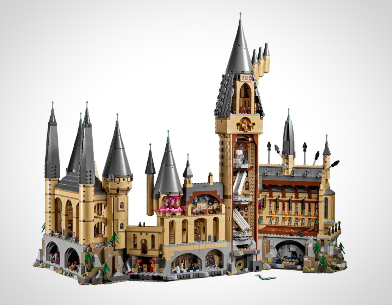 LEGO Announce New Harry Potter Hogwarts Castle