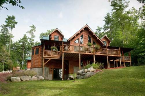 Bonanza Log Home - Residential New Home Construction - Aver Contracting