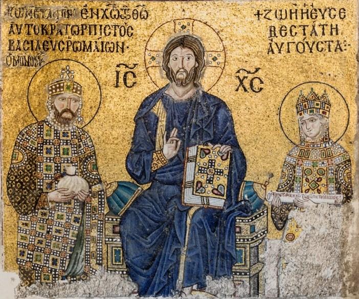 Mosaïque de l'impératrice Zoé, Sainte-Sophie (Istanbul, Turquie)