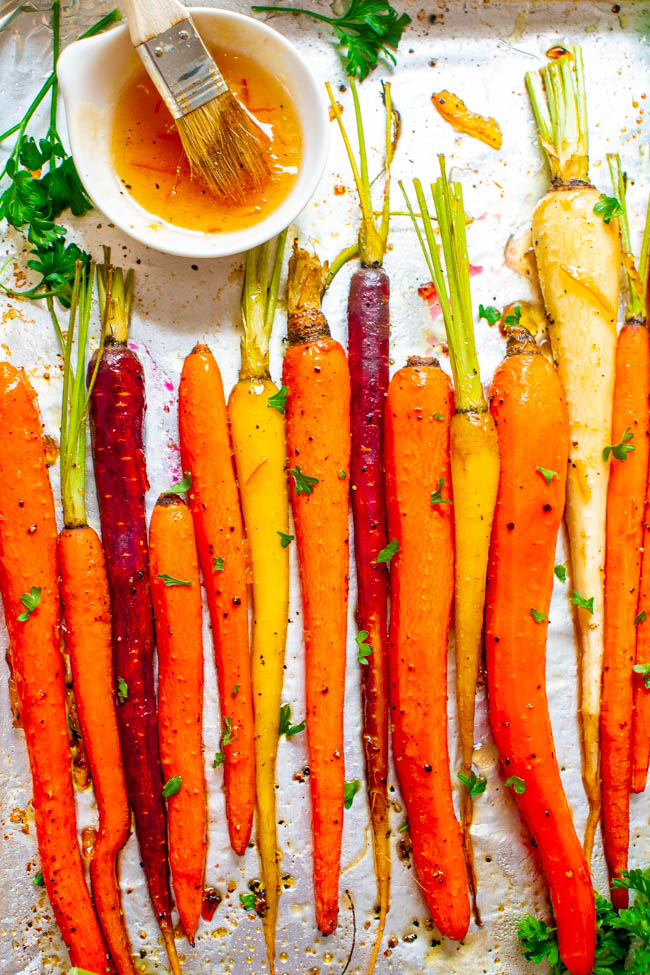 Honey Roasted Carrots – Hero Bitter Orange Marmalade
