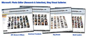 Microsoft: Bing Visual Galleries
