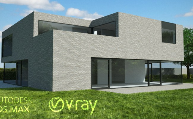 Vray Realistic Exterior Lighting Setup Outdoor Lighting