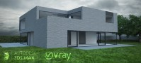Rendering architectural exteriors - Vray tutorial