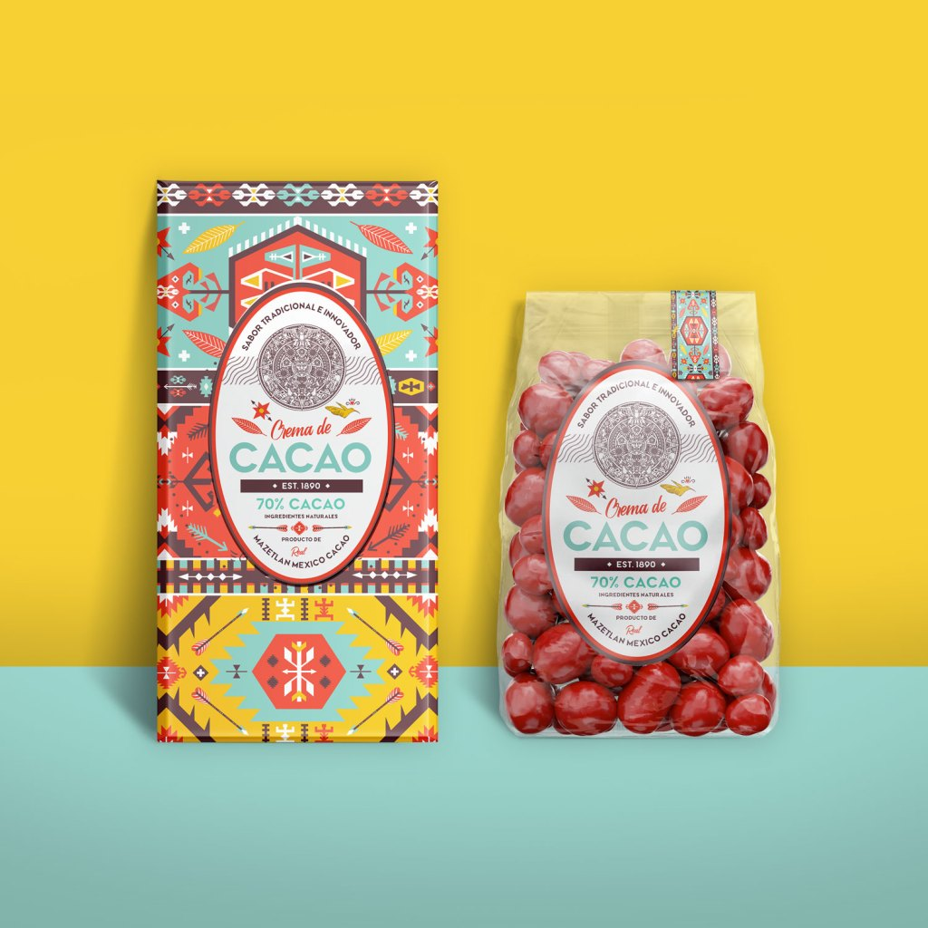 Bright bold colors can make your product labels stand out from competition