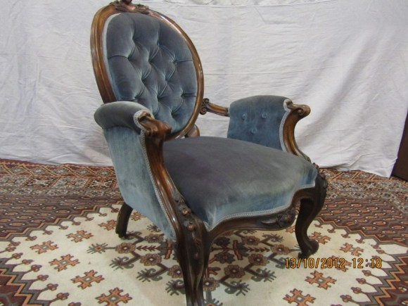 Photo Of Victorian Chair In Probate Valuation