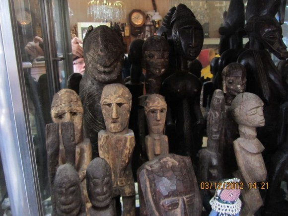 Tribal Art Collection In Dulwich Valuation For Probate