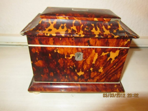 Probate Valuation Tea Caddy Photo
