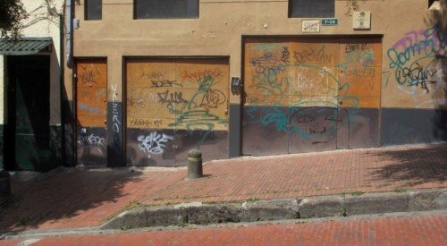 bogota tagged building