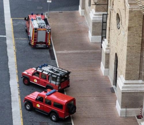 vatican city fire department