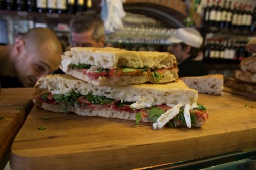 All'Antico Vinaio sandwich