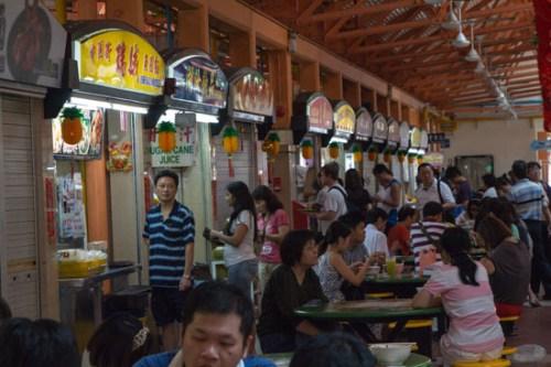 singapore hawker market