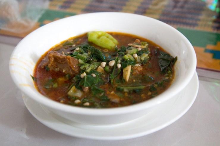 ghana okra soup