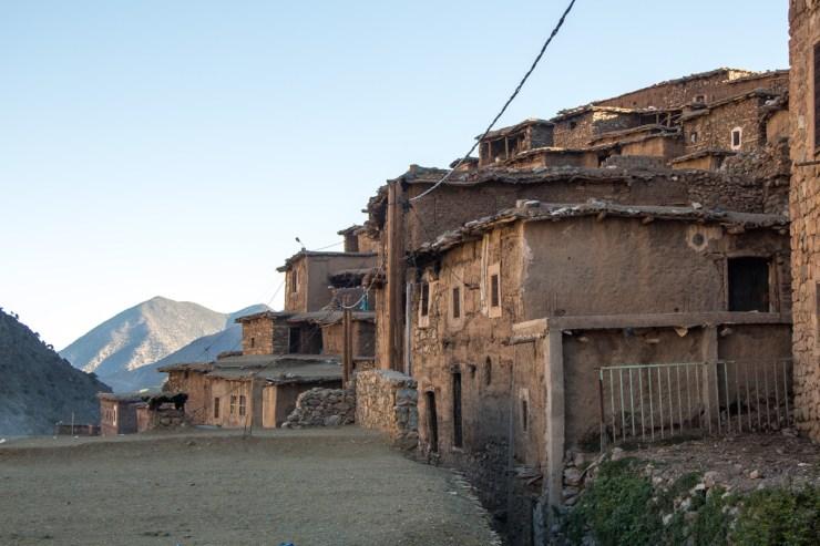 morocco atlas mountains berber village