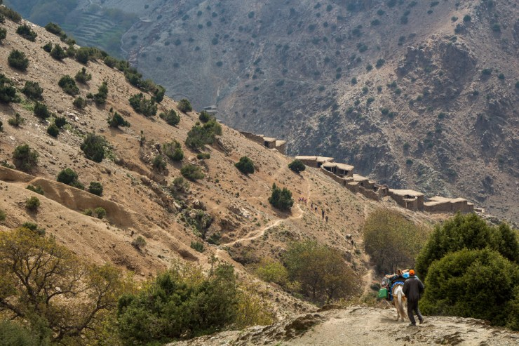 morocco atlas mountains getting around