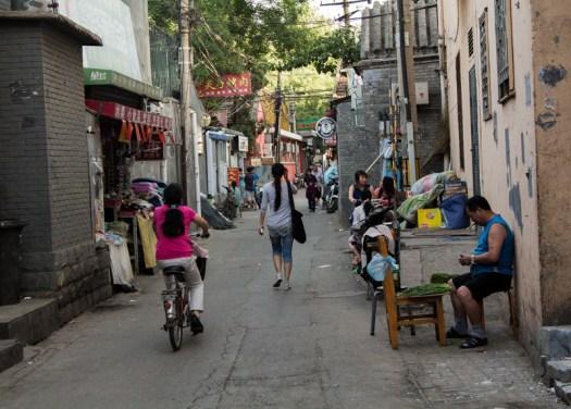 beijing hutong street