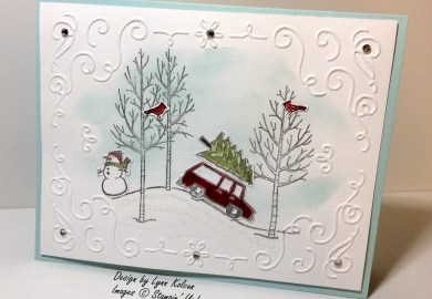 Stampin Up White Christmas Card Ideas
