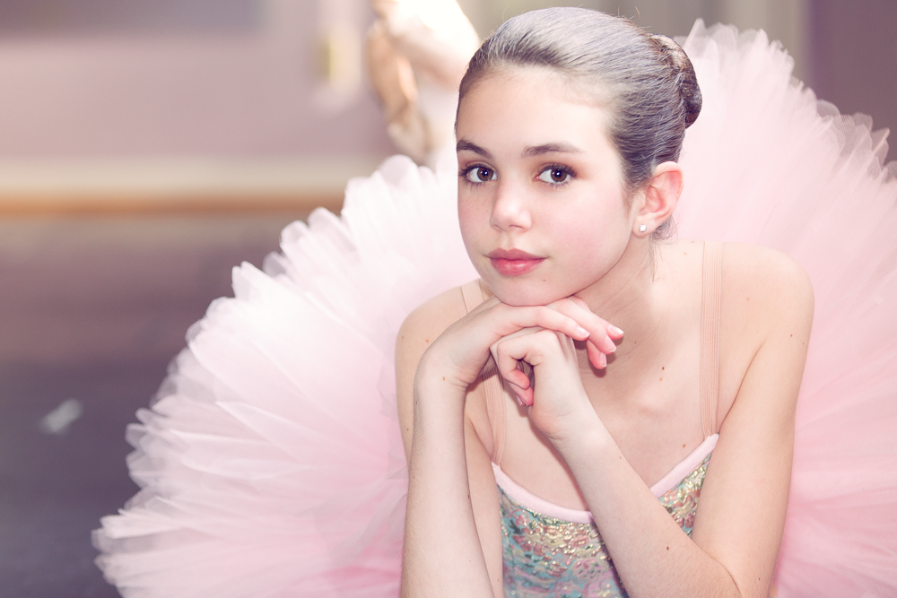 Ella  The Ballerina  Louisville Portrait Photographer  Averys Photography