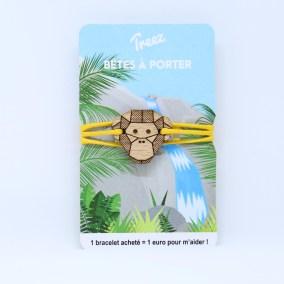 Bracelet Treez Bêtes à porter Bonobo web