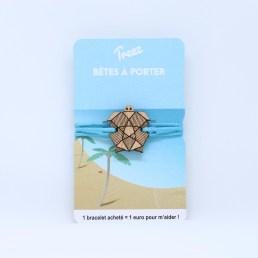 Bracelet Treez Bêtes à porter tortue web