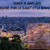 Samedi 16 mars 2019 : Marchons pour le climat et la biodiversité !