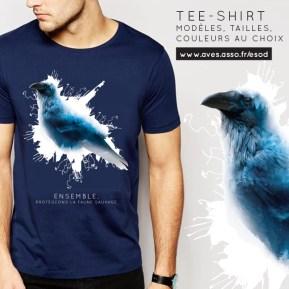 Tee-shirt Corbeau