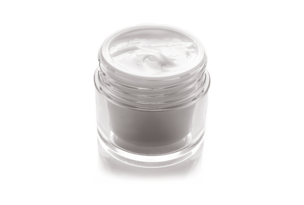 Ageless Perfection Cream in an open Airless Jar