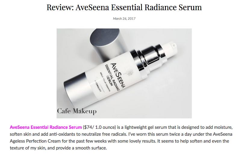 Cafe Makeup Essential Radiance Serum Review
