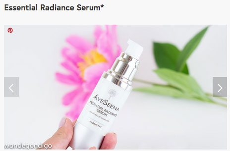 essential radiance serum full of niacinamide illuminating natural skin care review
