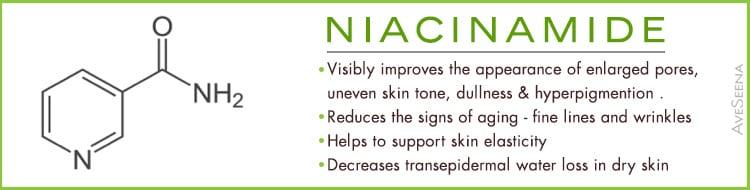 niacinamide skin care aging dullness vitamin b3