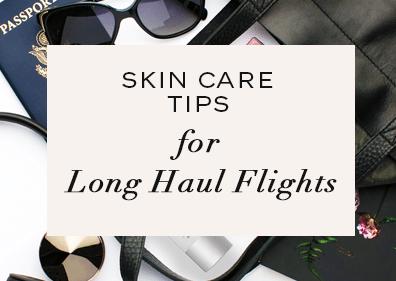skin care flight dry moisturize