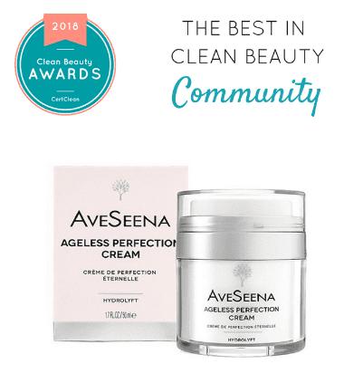 ageless cream clean beauty awards