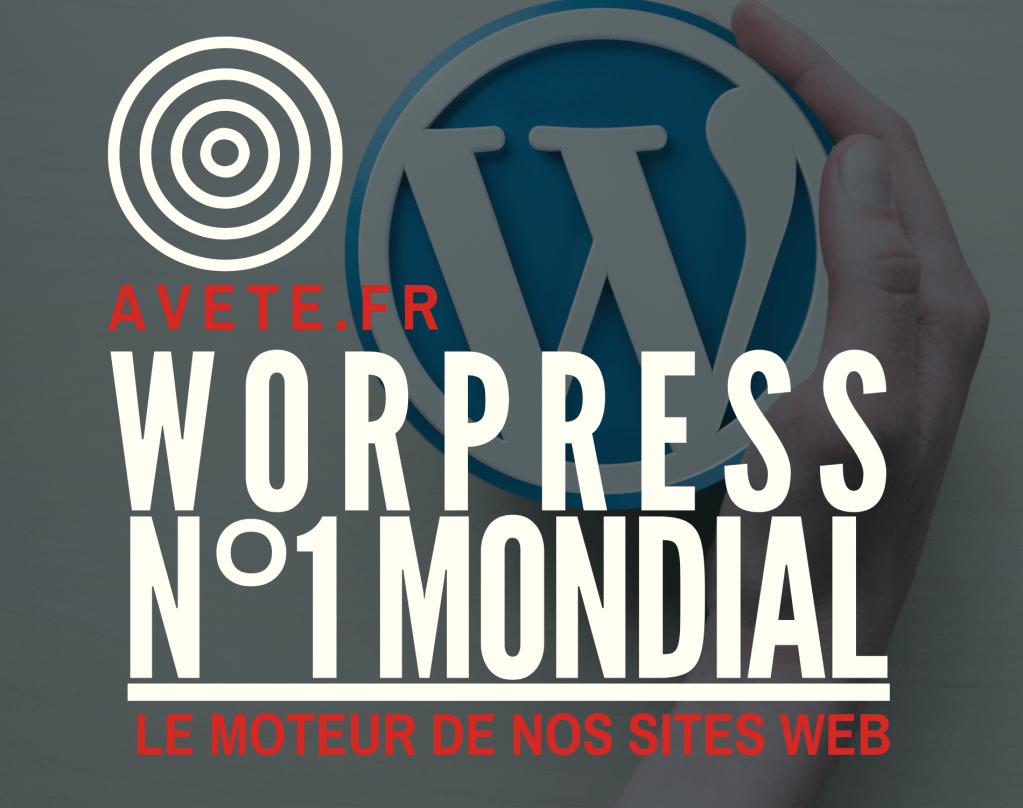 Wordpress n°1 mondial
