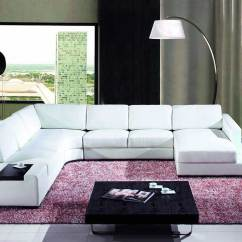 T35 Mini Modern White Leather Sectional Sofa Best Fabric Cleaner For Black Bonded