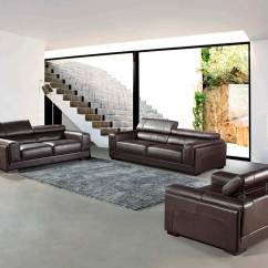 Top Grain Leather Sofa Set Sure Fit Velvet Pet Throw Modern Brown Vg818 Sofas