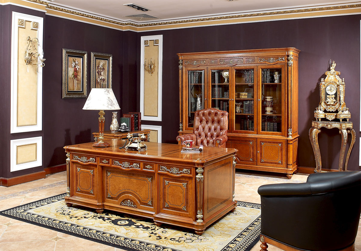 Golden Era Executive Desk  Executive